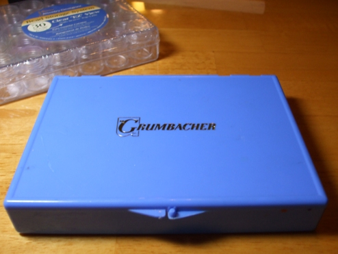 Grumbacher Blue Box