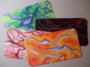 More Art Designs made into cards.
