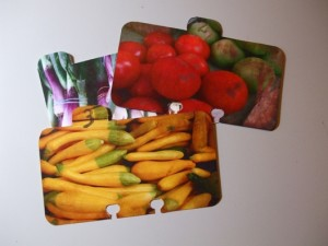 More Farmers Market Tab Cards