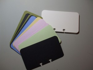 Basic Cards from Card Stock and Watercolor Paper