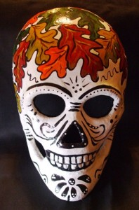 Oak Leaf Skull Mask